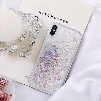 For Samsung Galaxy S5 S6 S7 Edge S8 S9 S10 Pluss Note 5 8 9 Quicksand Glitter