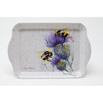 Jane Bannon Bees on Thistle Scatter Tray