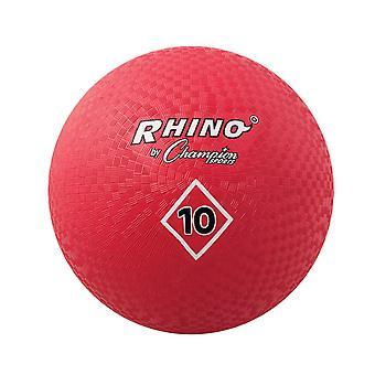 """Palla da parco giochi, 10"""", Rosso"""
