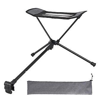 كرسي التخييم قابل للسحب مسند القدم المحمولة للطي كرسي قابل للربط بقية
