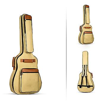 Double Shoulder, Straps Padded, Oxford Fabric Acoustic Guitar Bag Case,