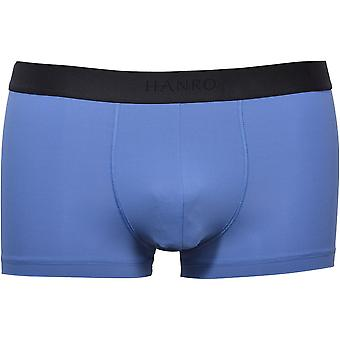 Hanro Micro Touch Boxer Trunk, Regatta Blue