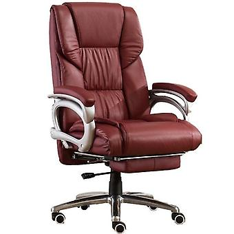 Office Sofa Boss Gaming Chair With Footrest Lie Ergonomics Synthetic Leather