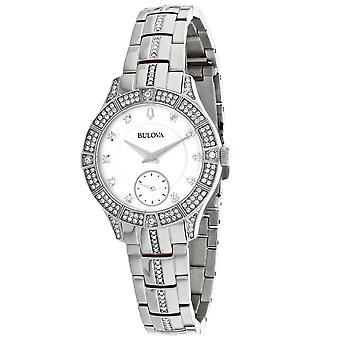 Bulova Women's Classic White Dial Watch - 96L291