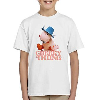 The Magic Roundabout Ermintrude Cheeky Thing Kid's T-Shirt