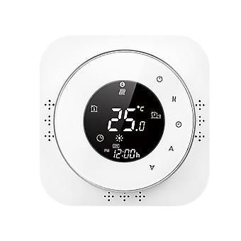 Termostato programable de 95-240V 5+1+1 pantalla táctil de seis períodos con termoregulador de calefacción de agua