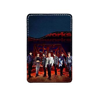K-pop Ateez Adhesive Card Holder For Mobile Phone