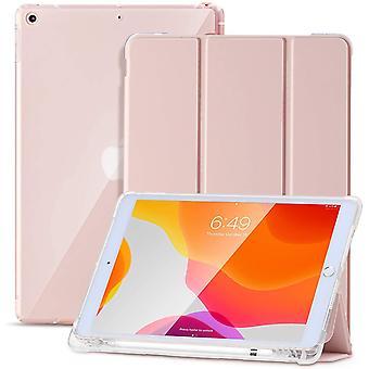 FengChun Hülle für iPad 8.Generation 2020/7.Generation 2019,Schlankes weiches TPU Durchscheinend