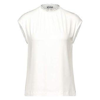 Street One 315617 T-Shirt, off White, 50 Woman