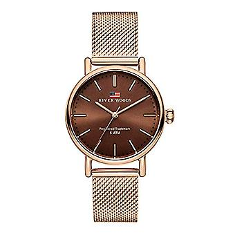 River Woods Analog Quartz Watch Woman with Stainless Steel Strap RW340018