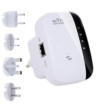300Mbps WiFi Signal Repeater Extender UK Plug Range Booster Internet Versterker
