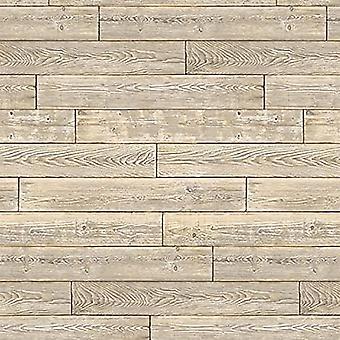 d-c-fix Shabby Wood Panel Wallpaper
