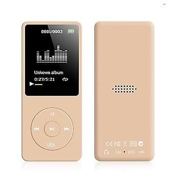 Playback Mp3 Mp4 Lossless Sound Portable Music Player Fm Recorder Noise