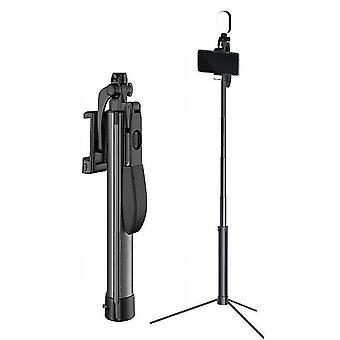 160 Cm με διπλό γέμισμα ελαφρύ ασύρματο bluetooth τηλεχειριστήριο τρίποδο selfie stick az5540