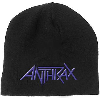 Anthrax - Logo Men's Beanie Hat - Black