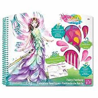 Style Me Up - Splash Of Color Fairy Fantasy Craft Kit