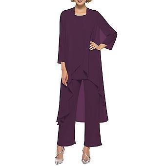 Naisten äiti mekko, housut puku