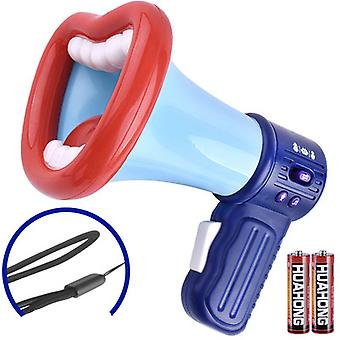 Cute Fun Little Horn Multi-function Recording Voice Changing Loudspeaker Toy