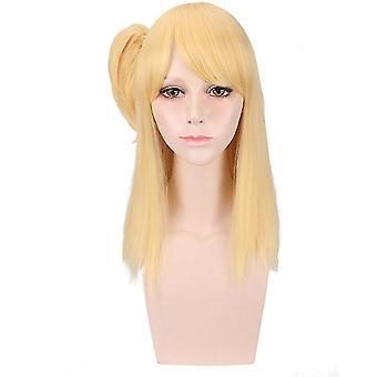 Perruque de cheveux synthétiques de queue de fée Lucy Heartfilia