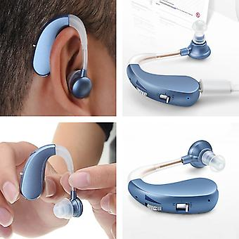 Hearing Aids Bte Mini Wireless Electric Rechargeable Hearing Aid For Hearing Impaired
