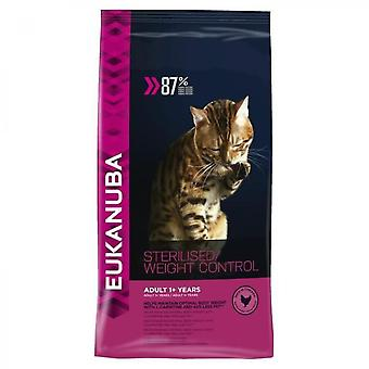 Eukanuba Chicken Nuggets - Sterilized Or Overweight - All Breeds - 0,4kg - For Adult Cats
