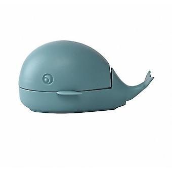 Little Whale Laundry Brush Cute Household Cleaning Shoe Brush(Blue)