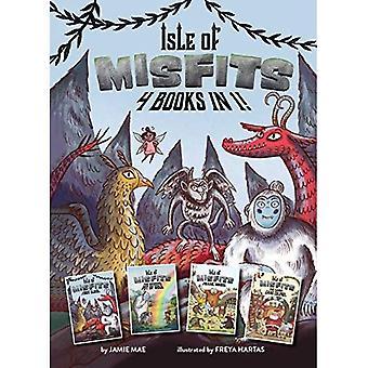 Isle of Misfits: 4 Books in 1! (Isle of Misfits)