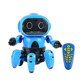 Robotic toys remote control robot toy with infrared obstacle avoidance sm164130