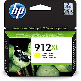 HP 912XL yellow original high capacity ink cartridge, High (XL) yield, Pig