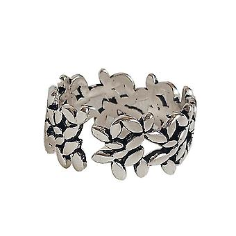 3PCS Copper Retro Lucky Leaves Olive  for Women Birthday Presents  Rings