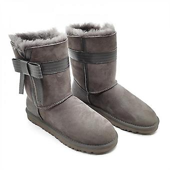 Evago Christmas Gift Women's Classic Waterproof Snow Boots Winter Boots With Leather Belt