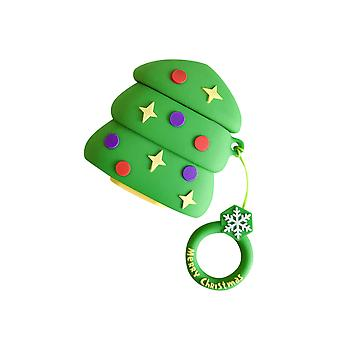 AirPods Case Christmas Earphone Protective Cover Santa Claus Christmas Tree suitable for Airpods 1/2