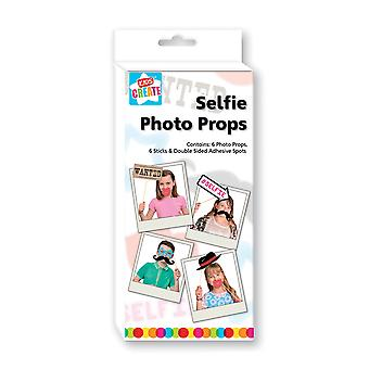 Kids Create Your Own Selfie Photo Props Children's Party Costume