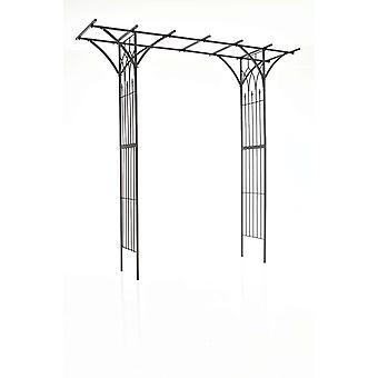 Rose Arch - Moderne - Noir - 110 cm x 52 cm x cm