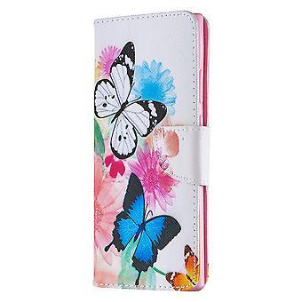 Fall für Samsung Galaxy Note 20 Ultra Muster zwei Schmetterling