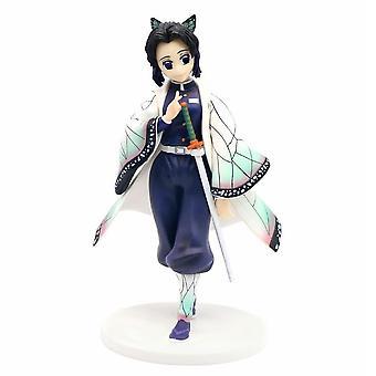 Anime Demon Slayer Kochou Shinobu 23cm Figur Leketøy Modell