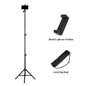5.2feet pliable Portable Phone Holder Stand Trépied pour Tiktok Live Streaming
