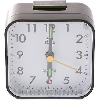 Alarm Clock Bedside Small Travel Alarm Chronicker Analog Quartz Alarm Hour Bell
