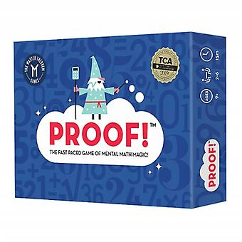 Proof Children's Mathematical Thinking Calculation Training Game