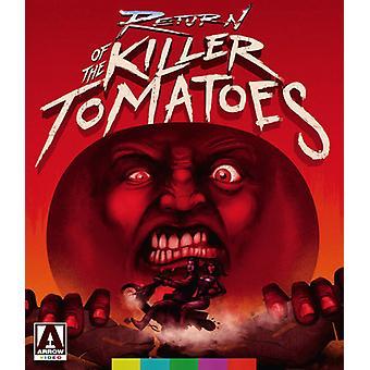 Return of the Killer Tomatoes [Blu-ray] USA import