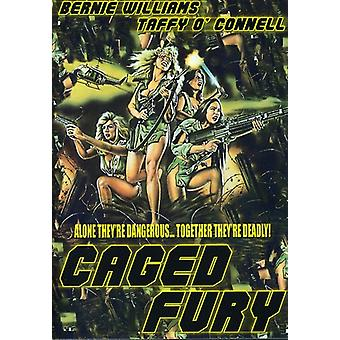 Caged Fury [DVD] USA import