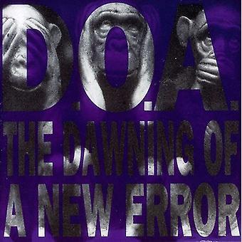 D.O.a. - aanbreken van een nieuwe fout [CD] USA import