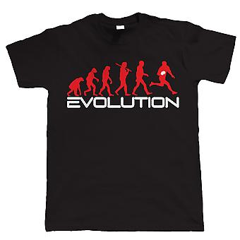 Evolution of Rugby, Funny Mens T Shirt - toutes tailles inc 4XL 5XL