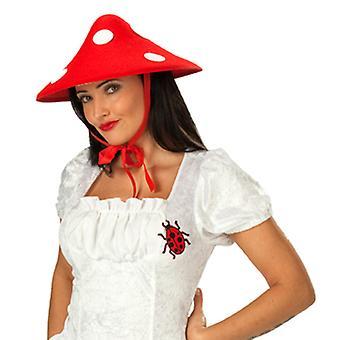 Fly agaric grzyby szczęście grzyb kapelusz kapelusz do stroju grzyb