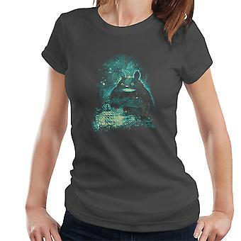Min nabo Totoro Babysitter kvinder T-Shirt