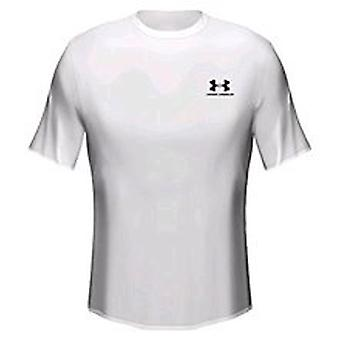 UNDER ARMOUR heatgear löysä t-paita Nuoriso [valkoinen]