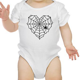 قلب العنكبوت ويب بيبي هالوين ملامستهما الأبيض القطن ملامستهما الرضع