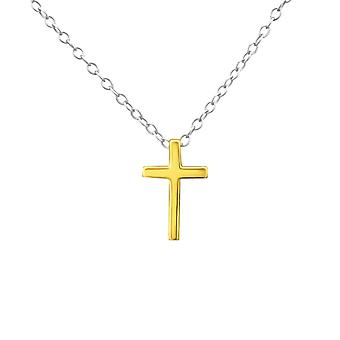 Cross - 925 Sterling Silver Plain Necklaces - W29920X