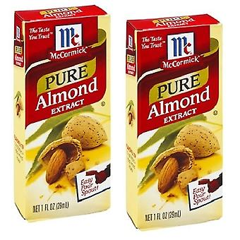 McCormick pure Almond extract 2 flacon Pack