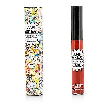 Thebalm Read My Lips (brillo labial infundido con ginseng) - ¡#wow! - 6ml/0.219oz